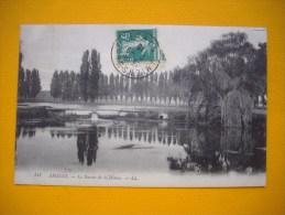 Cpa  AMIENS - 80 -  Le Bassin De La Hotoie -   Somme - Amiens