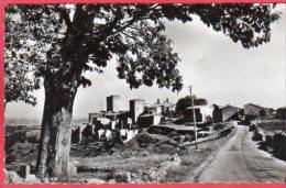 CPSM 07 MONTREAL Le Village Vu De La Route De SANILHAC  Dans Canton De Largentière  * Format CPA - France