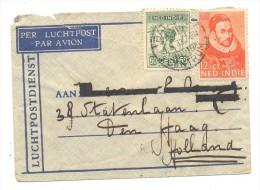 SOBRE NED INDIE FECHADOR AÑO 1933 MATº WILLEN - Niederländisch-Indien