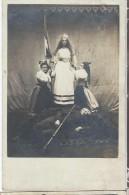 Photographie/ Groupe De 3 Femmes En Costume  D´Alsaciennes ?  /1914-1918     POIL157 - Guerre 1914-18