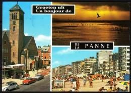 DE PANNE - LA PANNE - 3 Vues Diverses - Circulé - Circulated - Gelaufen - 1976. - De Panne