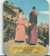 Stella Artois  Folklore -   Stavelot  Reuzen - Beer Mats