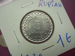INDONESIA - 5 RUPIAH - 1979