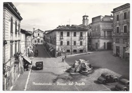 Monterotondo - Piazza Del Popolo - Auto - H892 - Altre Città
