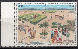 1986 PROGRAMAS DE DESARROLLO DE NNUU VEREINTE NATIONEN ENTWICKLUNGSARBEIT MNH - Ongebruikt