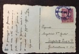 CRACOVIA - KRAKOW - BEL PANORAMA  CARTOLINA VIAGGIATA 1918 - Non Classificati