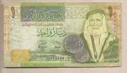 Giordania - Banconota Circolata Da 1 Dinaro - 2008 - Giordania