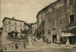 SAN MARINO MONUMENTO A GARIBALDI VG. 1961 - Saint-Marin