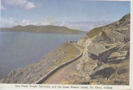 Slea Head, Dingle Penisula , And The Great Blanket Island, Co Kerry        Scan 8488B - Kerry