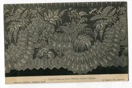 Ref 194 - Grand Volant Au Point D´Alençon Exécuté à Bayeux (thème Dentelle ) - 1910