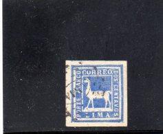 PEROU 1873 O - Peru