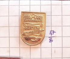 LOZNICA (Serbia) Yugoslavia / Coat Of Arms, Blazon Armoiries Blazon Emblème Ecusson Shield / FIDDLE GUSLE Alphabet - Städte
