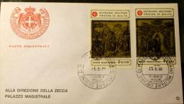 SMOM 1980- FORMELLE DUOMO DI SIENA    FDC