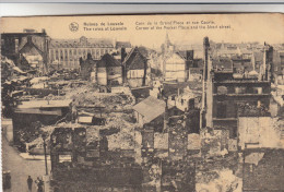 Leuven, Ruines De Louvain, Coin De La Grand'Place Et Rue Courte (pk14805) - Leuven