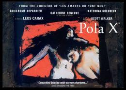 *Pola X* Official Selection Cannes Film Festival 1999. Nueva. - Affiches Sur Carte