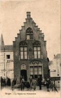 Brugge 4 CPA Rue De La Monnaie    St Sebastiaan Gilde   Station Binnen  Maison Des Poissonniers - Brugge