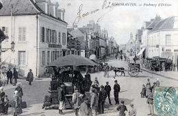 C1382 Cpa 41 Romorantin - Faubourg D'Orléans - Romorantin