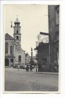 10319 - Ville Place Et Fontaine à Identifier  Kodak Année 1940-45 - Cartes Postales