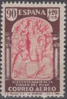 España 1940. Virgen Del Pilar. Correo Aereo. 908. MNH. **. - 1931-Hoy: 2ª República - ... Juan Carlos I