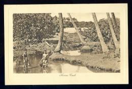 Cpa Océanie Île Cook Island  Avana Creek     JUI41 - Cook