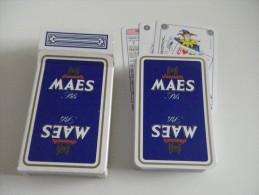 jeu de 52 cartes � jouer - BIERES BRASSERIES - MAES