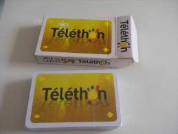 jeu de 52 cartes � jouer - TELETHON -