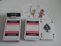 jeu de 52 cartes � jouer - CIGARETTES MURATTI AMBASSADOR