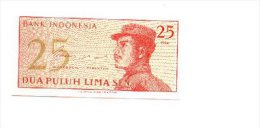 6-404. Billete Indonesia. 25. - 1964. Plancha - Indonesia