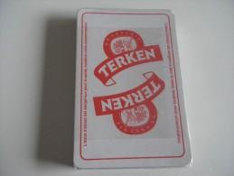 jeu de 32 cartes � jouer - BIERES BRASSERIES TERKEN ROUBAIX