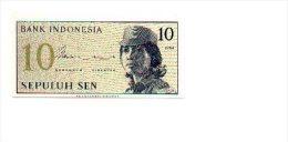 6-405. Billete Indonesia. 10. - 1964. Plancha - Indonesia