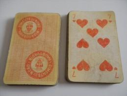jeu de 32 cartes � jouer - HAUBOURDIN - CIMENTS DU NORD