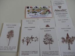 jeu de 7 familles - ARBRES DE LA FORET DE NIEPPE - GAZ DE FRANCE - HAZEBROUCK