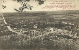 CLERMONT-EN-ARGONNE - Panorama Pris Du Plateau Sainte-Anne - Clermont En Argonne