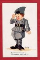 CPA Illustrateur Leonel 1939 Militaria Soldier Recruta Recrute ( 2 Scans ) Portugal - Non Classificati