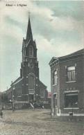 Alleur - L'Eglise Et ... Maisons Environnantes - Jolie Carte Couleur -1911 ( Voir Verso ) - Ans