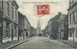 Jemeppe-sur-Meuse - La Rue De L´Hôtel Communal - Tram ... Au Bout De La Rue - 1909 ( Voir Verso ) - Seraing