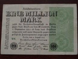 EINE Million Mark Berlin 1923 WK ( For Grade, Please See Photo ) ! - [ 3] 1918-1933 : République De Weimar