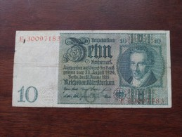 ZEHN Reichsmark Berlin 1929 E 30097183 ( For Grade, Please See Photo ) ! - [ 3] 1918-1933 : Weimar Republic