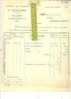 60 - Oise - BEAUVAIS - Facture PASCAREL - Fabrique De Chicorée – 1922 - REF 123 - Francia
