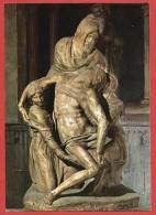 CARTOLINA NV ITALIA - FIRENZE - Cattedrale - Michelangelo - La Pietà - 10 X 15 - Sculture
