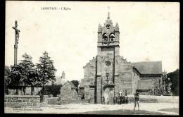Cpa Du 22 Lanrivain L' église   ....  Guingamp    JUI22 - Guingamp