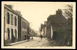 Cpa Du 29 Landeleau Grand ' Rue Partie Haute     JUI22 - Châteauneuf-du-Faou