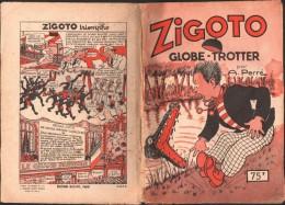 ZIGOTO  GLOBE TROTTER Par A. PERRE - Magazines Et Périodiques