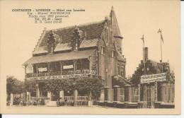 Oostakker Hotel Van Lourdes  : Zeer Oude En Mooie Gelopen Kaart ! - België