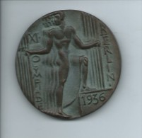"""Médaille Dans Son étui """"XI Olympiade BERLIN 1936""""  RR - Other"""