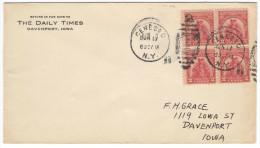 STATI UNITI - UNITED STATES - USA - US - 1929 - 2c Sullivan Expedition, Block Of 4 - FDC - Viaggiata Da Geneseo Per D... - Ersttagsbelege (FDC)