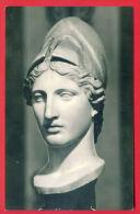 "153932 / GREECE Art Sculpture Kresilas - Head Of Athena Of The "" Velletri Type "" , A Roman Spear -  Russia Russie - Sculptures"