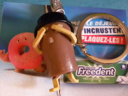 PORTE CLEFS FREEDENT - Porte-clefs