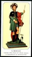 Santino - San Rocco - Venerato In Montefalcone Di Val Fortore (BN) - Devotion Images