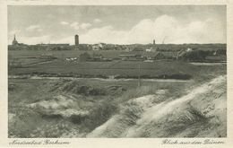 AK Nordseebad Borkum Blick Aus Den Dünen~1930/40 #14 - Borkum